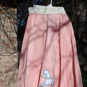 Handmade Poodle Skirt